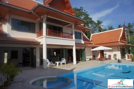 Spacious Four Bedroom Sea View Pool Villa in Kata