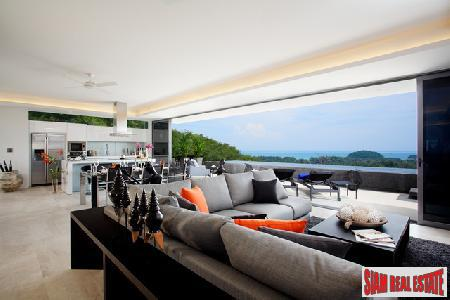 Modern Sea View Condo featuring private swimming pools and great indoor outdoor flow, Layan