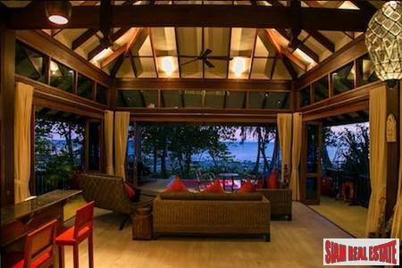 Luxury Island Beachfront Villas Within Eco-Resort