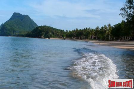 Paradise Island beachfront land within luxury eco-resort.