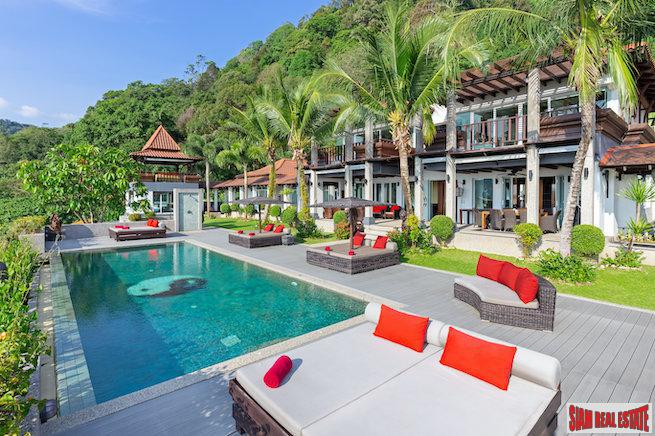 Villa Thai Sawan | Super Luxury Eight Bedroom Sea View Villa at Kalim, Patong