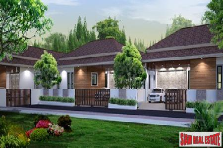 New three-bedroom home in Chalong with private swimming pool