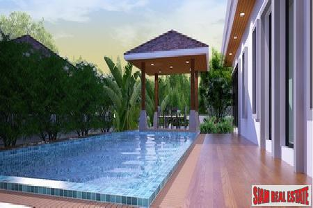New three-bedroom home in Chalong 2