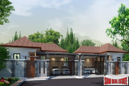New modern two-bedroom home in Rawai with private swimming pool
