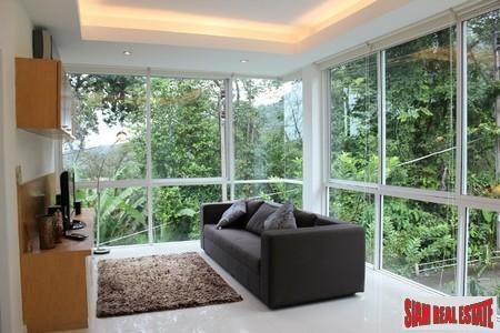 Modern one-bedroom Kamala condominium in tranquil complex