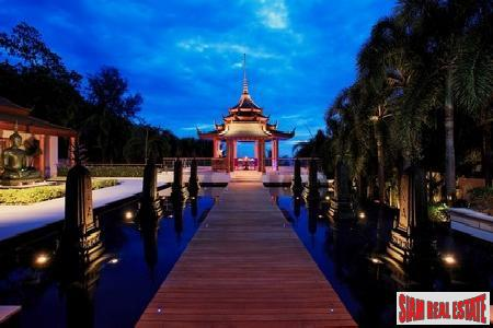 Iconic Six-Bedroom Waterfront Estate in Nai Thon Resort