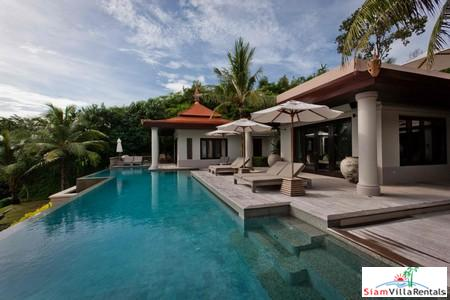 Ultra-Luxury Oceanfront Five-Bedroom Villa in Nai Thon Resort