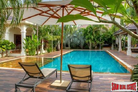 Immaculate six-bedroom Balinese style private pool villa in Rawai