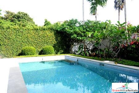 Modern three-bedroom private pool villa in quiet Rawai location