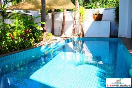 Modern private two-bedroom pool villa in quiet Rawai location with lovely indoor/outdoor flow