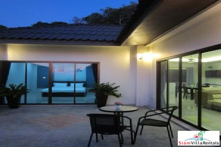 Two-bedroom modern home with sea view in Karon