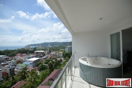 Sunset Plaza | Sea View Two-bedroom Contemporary Condo for Sale in Karon