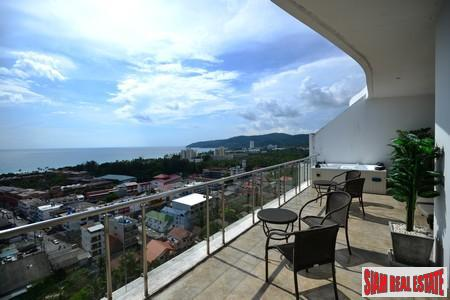 Four-bedroom modern apartment in Karon with sea views