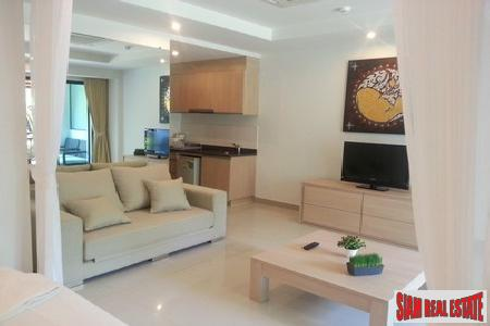 Renovated one-bedroom modern studio apartment in Surin