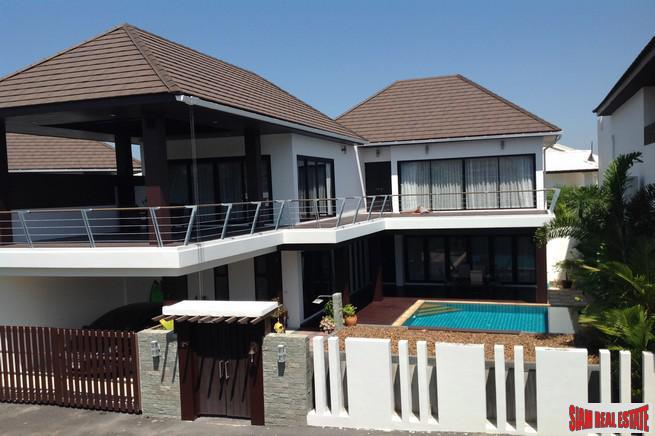 Garden Village Pasak 8 | Three-bedroom Home with Private Pool in Quiet Residential Area