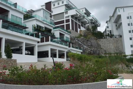 Modern two-bedroom apartment located on Kamala hillside with partial sea view