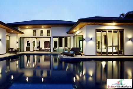 Private pool villa with great indoor outdoor flow in popular Bang Tao estate