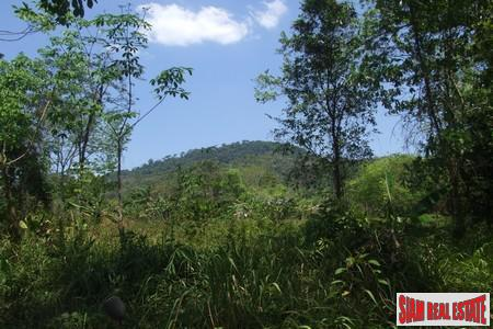 3 Rai Mountain Land With Partly Sea View