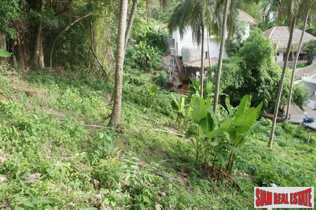 525sqm section in quiet Kata residential area featuring sea view