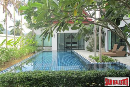 Brand New Thai Style Three Bedroom Tropical Pool Villas for Rent in Cherng Talay