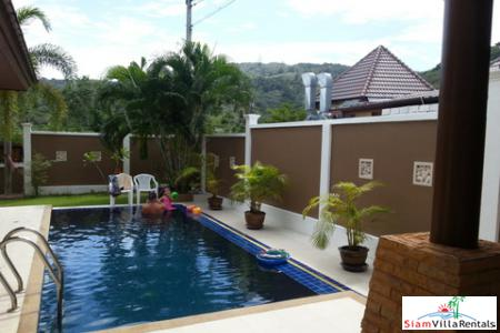 Baan Klang | Luxury Three Bedroom Pool Villa for Rent with Fantastic Views