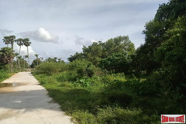 Flat Land for Sale and 6