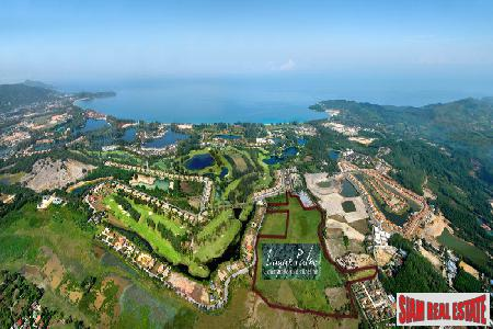 79 rai of land in one of Phuket's most popular upmarket residential areas