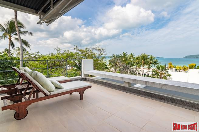 One-Bedroom Sea View Penthouse in Rawai