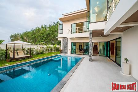 Modern private pool luxury villas in Cherng Talay close to beach