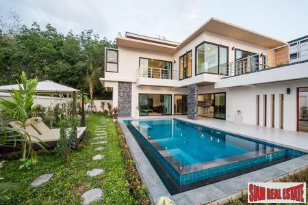 Modern private pool luxury villas 2