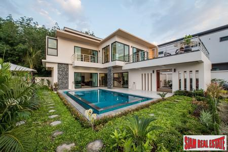 Modern private pool luxury villas 4