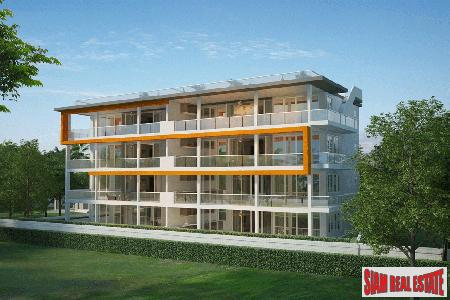 Modern two-bedroom apartments in Rawai with two sizes to choose from