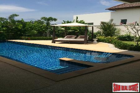 Rawai three-bedroom private pool villa with landscaped garden