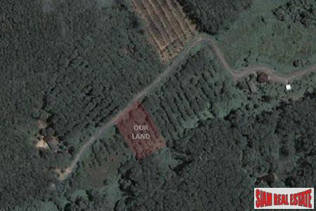 Flat 1 rai area of land in quiet central Thalang location