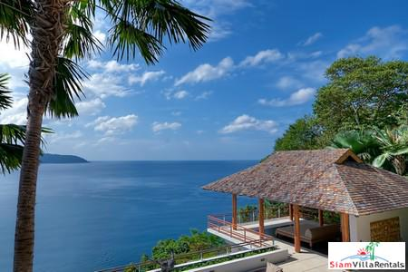 Beautiful Phuket villa with stunning ocean views - ideal for family and friends, Nakalay Beach, Phuket