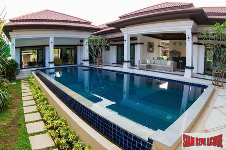 Four-Bedroom Luxury Balinese Courtyard Pool Villas in Cherng Talay