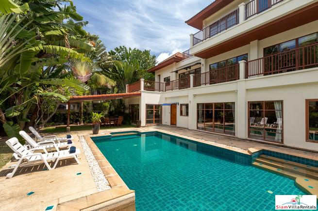 Spacious 5-Bedroom Pool Villa in Surin with Games Room+