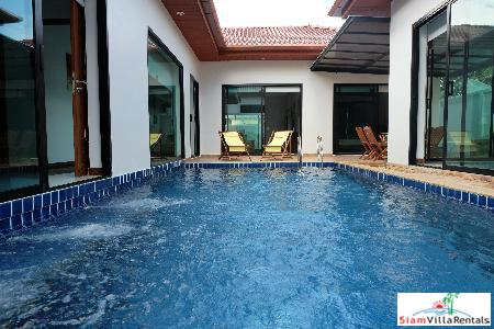 Elegant 3-Bedroom Courtyard Pool Villa in Rawai