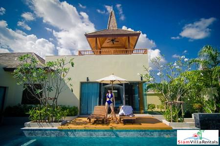 Luxury Three Bedroom Pool Villa within a New Development For Rental at Layan, Phuket