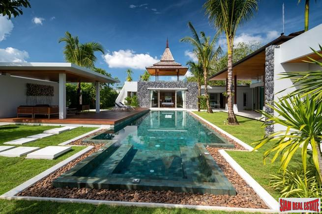 Luxury Three-Five Bedroom Pool Villa within a New Development For Sale at Layan, Phuket