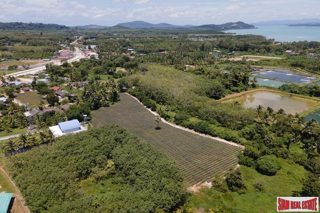 5+ Rai Flat Land in Ao Por, Ao Phor, Phuket