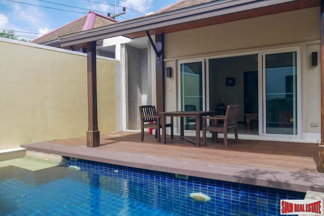 Cute, Sophisticated One-Bedroom Pool Villa in Layan