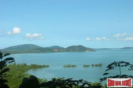 Large Plot of Hillside, Sea-view Land in Ao Por