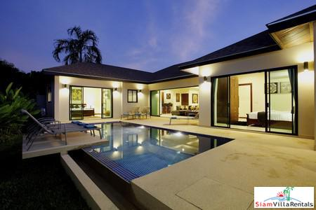 Elegant, Modern 4-Bedroom Pool Villa in Nai Harn