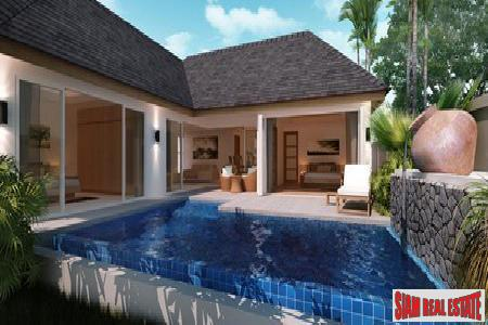 2-Bedroom, Single-Level New Pool Villa Development in Rawai