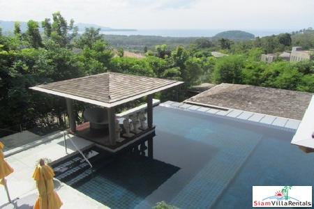 Four-Bedroom Modern Zen Sea View Pool Villa in Layan