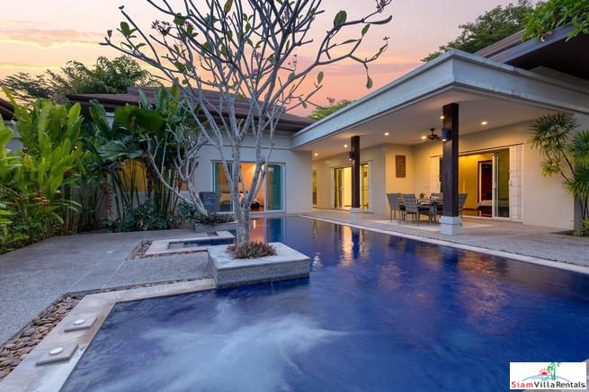 Beautiful Three-Bedroom Pool Villa in Rawai Boutique Residence