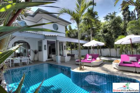 Stunning Modern Tropical 3-Bedroom Pool Villa in Naiharn