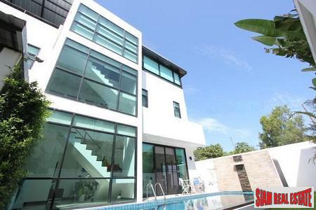 Modern Three Storey House with Private Pool  for Sale in Rawai