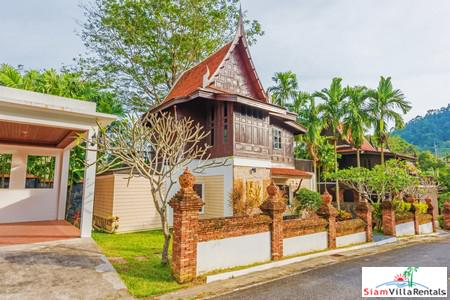 Traditional Thai-Style 3-Bedroom Pool Villa in Bang Jo